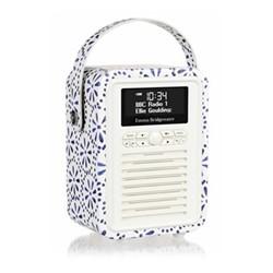 Retro Mini - Emma Bridgewater Radio, 15 x 22 x 10.5cm, blue daisy
