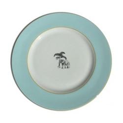 Harlequin - Blue Elephant Dessert plate, D21cm, blue