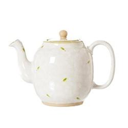 Lawn Teapot, H15cm - 1 litre, white
