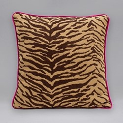 Into The Wild Cushion, 45 x 45cm, tiger print