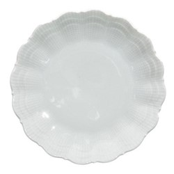 Corail Set of 6 bread plates, 15.5cm, white