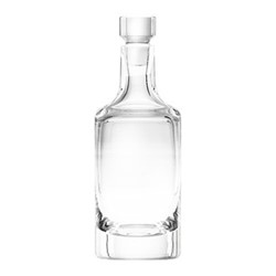 Whiskey Decanter, 1 litre, clear
