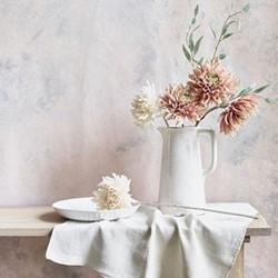 Corinium Large vase, H31 x D17.5cm, white