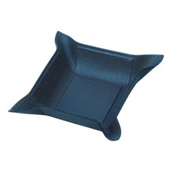 Jack Square valet tray, 15cm, petrol blue