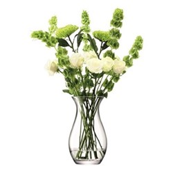 Flower Grand posy vase, 32cm, clear