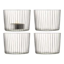 Gio Set of 4 tealight holders, H6cm