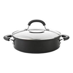 Total Casserole pan, 24cm - 2.8 litre, hard anodized aluminium