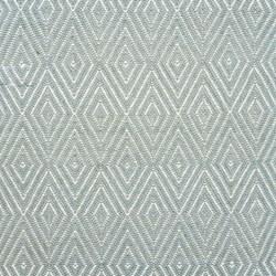 Diamond Polypropylene indoor/outdoor rug, W259 x L335cm, light blue/ivory