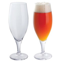 Wine & Bar Pair of beer glasses
