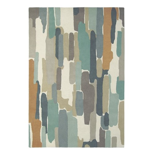 Trattino Rug, L230 x W160cm, Sea Glass