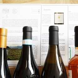 Mixed wine discovery case, 12 bottles, sparkling, white, red and rose