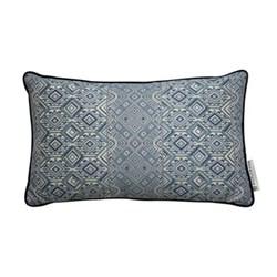 Nahuala Cushion, 42 x 70cm, blue
