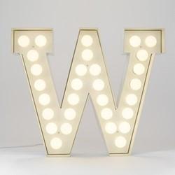 Vegaz W Letter light, H60cm