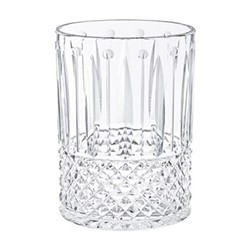 Tommy Large oval vase, clear crystal