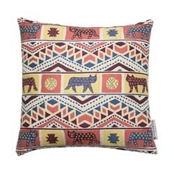 Tiger-Tiger Cushion, 50 x 50cm, pink multi