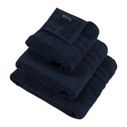 Egyptian Cotton Bath towel, 70 x 125cm, navy