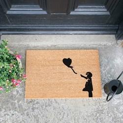 Balloon Doormat, L60 x W40 x H1.5cm