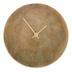 Okota Clock, Dia38cm, antique brass