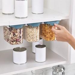 Food storage set, H14.5 x W33 x D19.5cm, dark opal