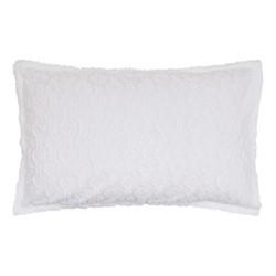 Nara Oxford pillowcase, 74 x 48cm, white