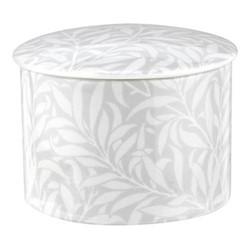 Pure Morris - Willow Bough Trinket tray, 9.5cm, grey/white