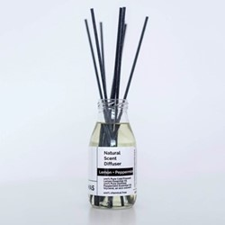 Pure - Lemon and Peppermint Diffuser, 250ml, clear