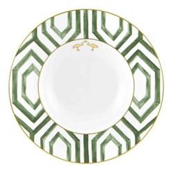 Amazonia Pasta plate, 38 x 4cm, green
