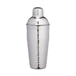 Luxury cocktail shaker, 700ml, hammered metal