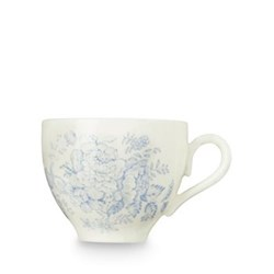 Asiatic Pheasants Teacup, 18.7cl, blue