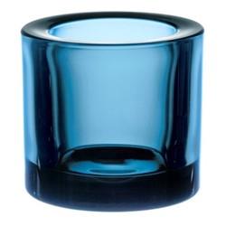 Kivi Votive candleholder, 6cm, deep turquoise