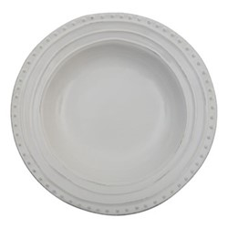 Bowsley Set of 6 pasta bowls, Dia29.5 x H4.7cm, white