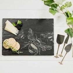 Bee Cheese board, W35 x L25cm