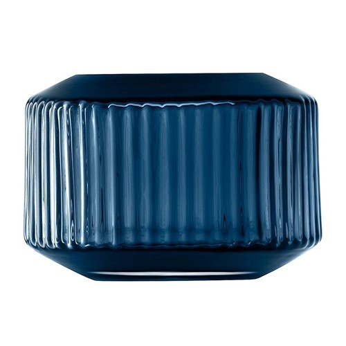 Rotunda Tealight Holder/Vase Sapphire, Blue