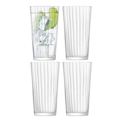 Gio Line Set of 4 glasses, 320ml, clear