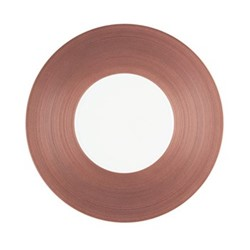 Hemisphere Dinner plate, Dia27cm, purple metallic