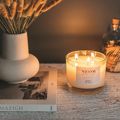 Scent to De-Stress 3 wick scented candle