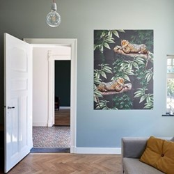 Graphic - Chilling in the Jungle & Into the Wild Wall decoration, 80 x 100cm