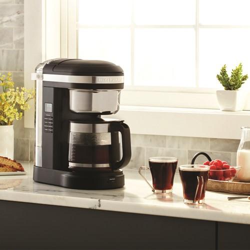 Drip Coffee maker, 1.7 litre, onyx black
