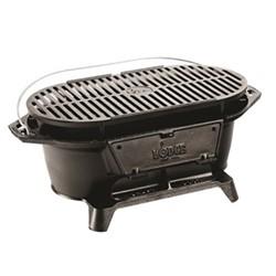 Lodge Sportsman's grill, 51 x 26.4 x 20.7cm, black