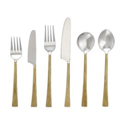 Usa Set of 24 cutlery set, brushed gold