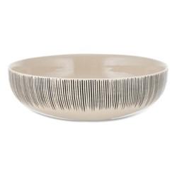 Karuma Serving bowl, D26cm, black