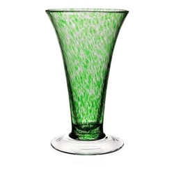 Studio - Vanessa Vase, 28cm, forest green