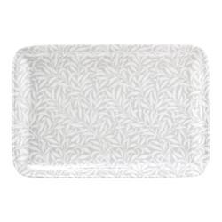 Pure Morris - Willow Bough Platter, 30.5cm, grey/white