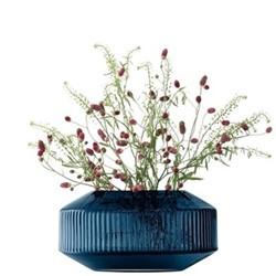 Rotunda Vase Sapphire 14cm, Blue