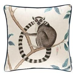 Glasshouse - Lemur Cushion, 43 x 43cm, grey