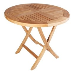 Jasmine Medium table, H75 x Dia90cm, teak