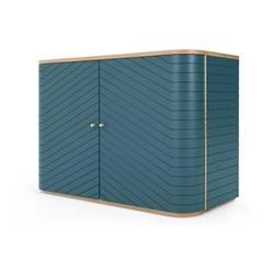 Novak Sideboard, H72 x W100 x D47cm, teal