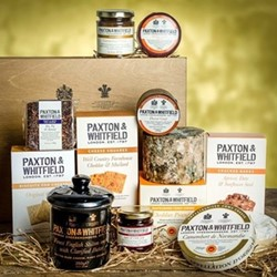 The Piccadilly Cheese hamper, wooden hamper