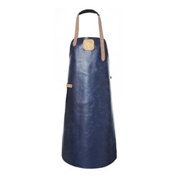 Summer Collection Apron, Large, navy/nude
