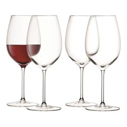 Wine Set of 4 red wine goblets, 420ml, clear